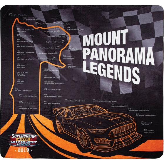 Bathurst Travel Blanket - Mount Panorama Past Legends, 1.5m x 1.5m, , scaau_hi-res