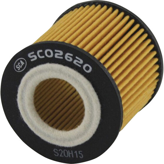 SCA Oil Filter - SCO2620 (Interchangeable with R2620P), , scaau_hi-res