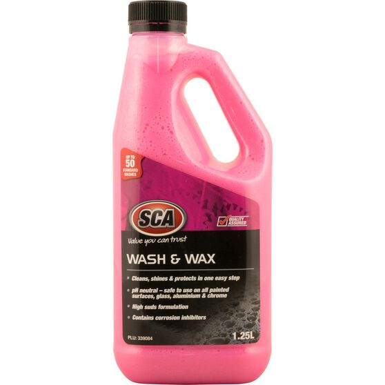 SCA Concentrate Wash & Wax - 1.25 Litre, , scaau_hi-res