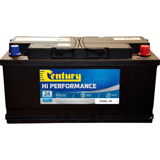 Century Hi Performance Car Battery DIN85L MF, , scaau_hi-res