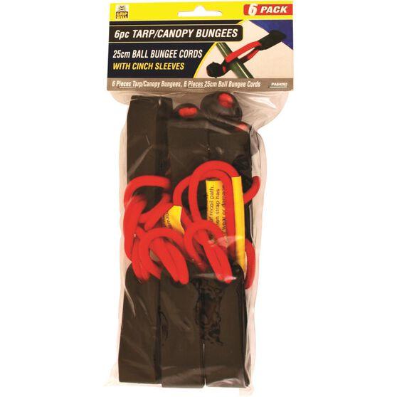 Gripwell Tarpaulin Canopy Bungee Kit - 6 Piece, , scaau_hi-res