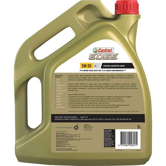 Castrol EDGE Engine Oil 5W-30 LL 5 Litre., , scaau_hi-res