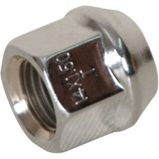 Wheel Nuts, Tapered Open End, CHrome - 14X1.5MM, , scaau_hi-res