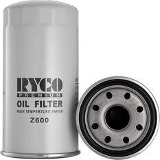 Ryco Oil Filter Z600, , scaau_hi-res