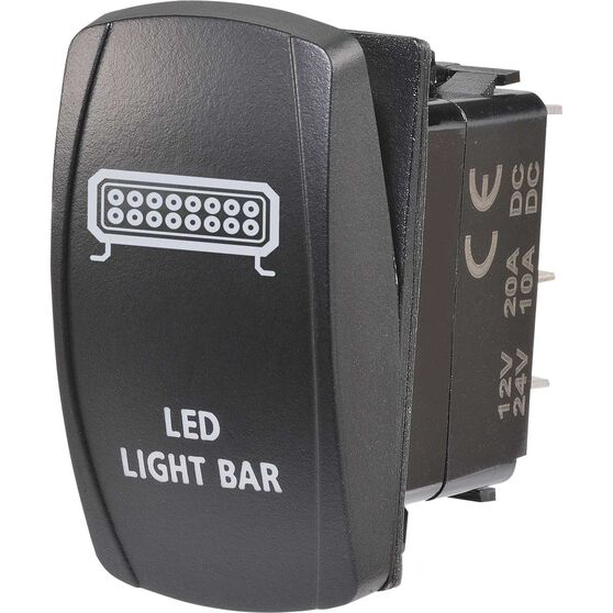 Narva Rocker Switch - Off / On, LED, LED light Bar, , scaau_hi-res