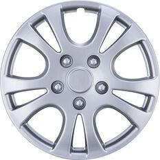 Best Buy Wheel Covers - Horizon, 15 inch, Silver, 4 Piece, , scaau_hi-res