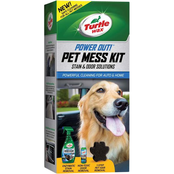 Turtle Wax Power Out Pet Mess Kit, , scaau_hi-res