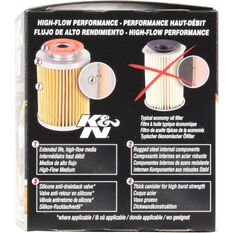 K&N Wrench Off Performance Gold Oil Filter  HP-1008 (Interchangeable with Z436), , scaau_hi-res