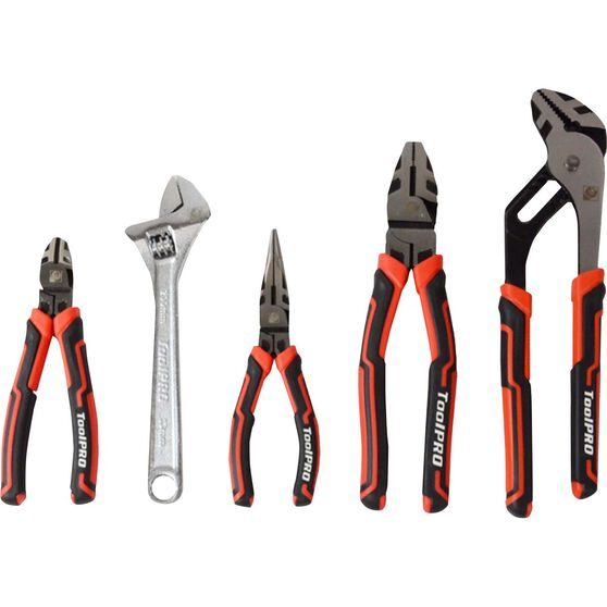 ToolPRO Plier and Wrench Set - 5 Pieces