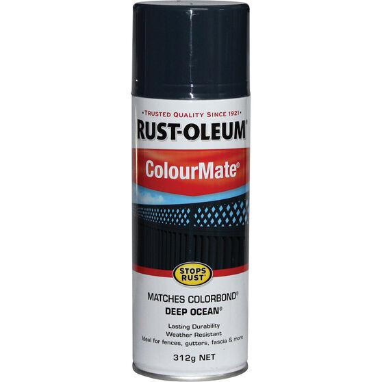 Rust-Oleum Aerosol Paint - Colourmate, Deep Ocean 312g, , scaau_hi-res