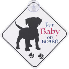 Cabin Crew Pets Window Sign - My Kids Have Paws, , scaau_hi-res