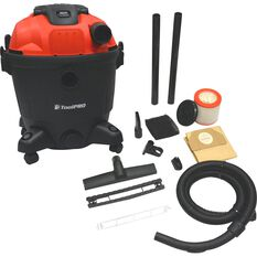 ToolPro Wet and Dry Workshop Vacuum - 35 Litre, , scaau_hi-res
