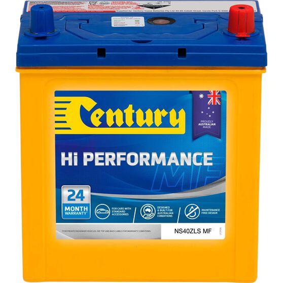Century Hi Performance Car Battery NS40ZLS MF, , scaau_hi-res