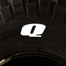 Tire Stickers - Letter Q, , scaau_hi-res