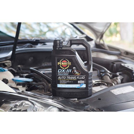 Penrite Automatic Transmission Fluid - DX-III, 4 Litre, , scaau_hi-res