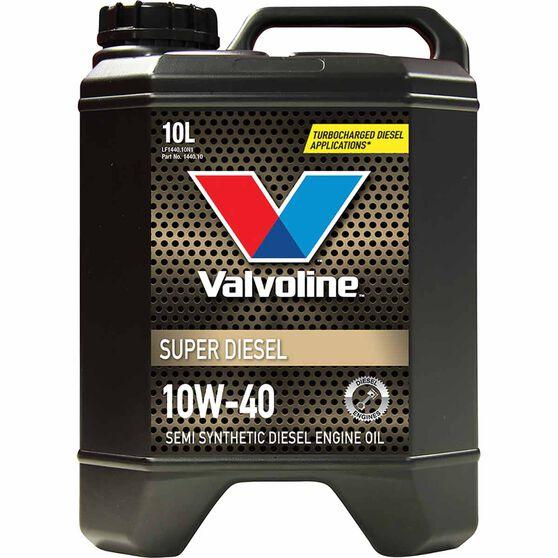 Valvoline Super Diesel Engine Oil 10W-40 10 Litre, , scaau_hi-res