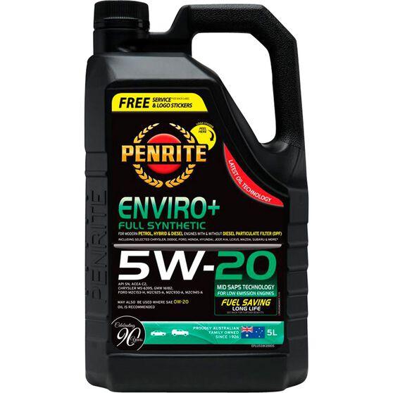 Penrite Enviro+ Engine Oil - 5W-20 5 Litre, , scaau_hi-res