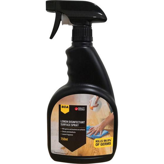 SCA Lemon Disinfectant Surface Spray - 750mL, , scaau_hi-res