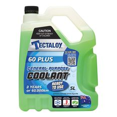 Tectaloy Radiator Coolant 60 Plus - 5 Litre, , scaau_hi-res