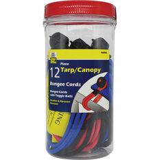 Bungee Cord Parck - 12 Pack, , scaau_hi-res