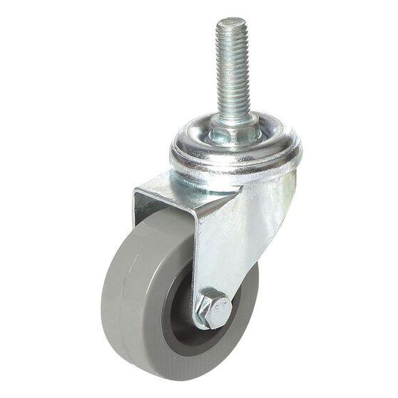 SCA Caster Wheel - 50 x 17.5mm, Plastic, Swivel, , scaau_hi-res