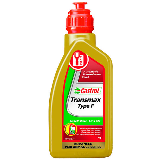 Castrol Transmax Type F Automatic Transmission Fluid 1 Litre, , scaau_hi-res