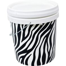 Design Pail Zebra- 15L, , scaau_hi-res