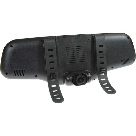 "Gator GHD5MR 5"" Mirror Mounted Front & Rear Dash Camera Kit, , scaau_hi-res"