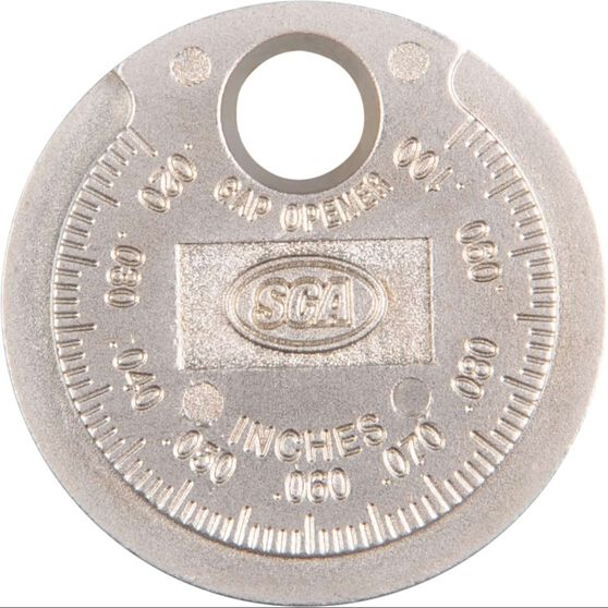 SCA Spark Plug Gap Gauge - Coin, , scaau_hi-res