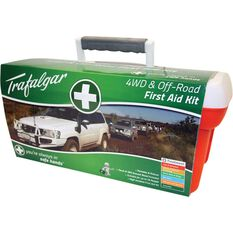 Trafalgar 4x4 and Offroad First Aid Kit - 127 Pieces, , scaau_hi-res