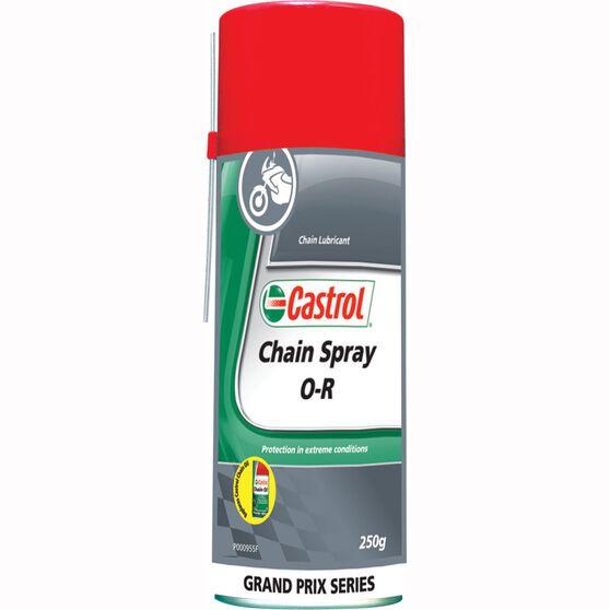 Castrol Chain Spray O-R Chain Lube 250g, , scaau_hi-res