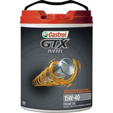 Castrol GTX Diesel Engine Oil - 15W-40 20 Litre, , scaau_hi-res
