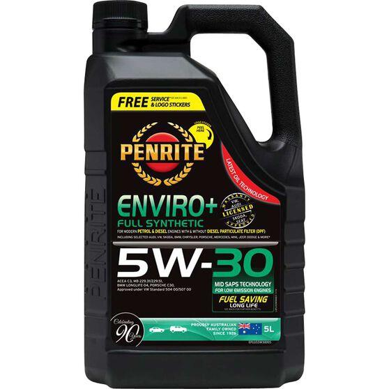 Penrite Enviro+ Engine Oil - 5W-30 5 Litre, , scaau_hi-res