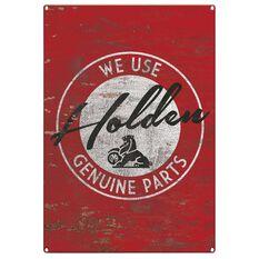 Tin Sign - Holden Genuine Parts, , scaau_hi-res