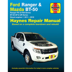 Haynes Car Manual For Ford Ranger / Mazda BT-50 2011-2017 - 36772, , scaau_hi-res