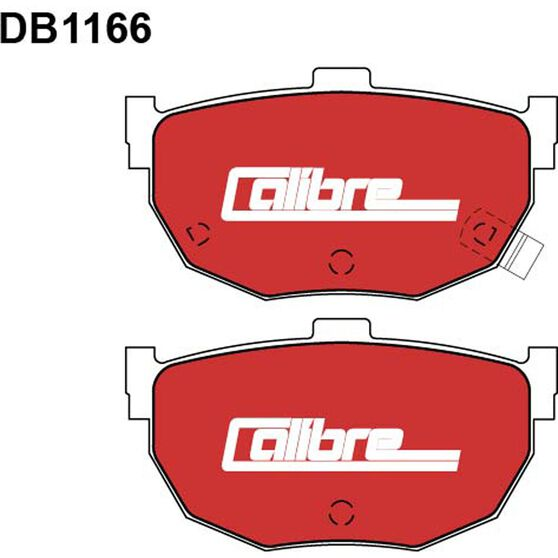 Calibre Disc Brake Pads - DB1166CAL, , scaau_hi-res
