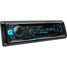 Kenwood Smartphone / CD Player with Bluetooth - KDC-BT610U, , scaau_hi-res