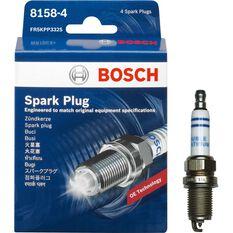 Bosch Spark Plug - 8158-4, 4 Pack, , scaau_hi-res