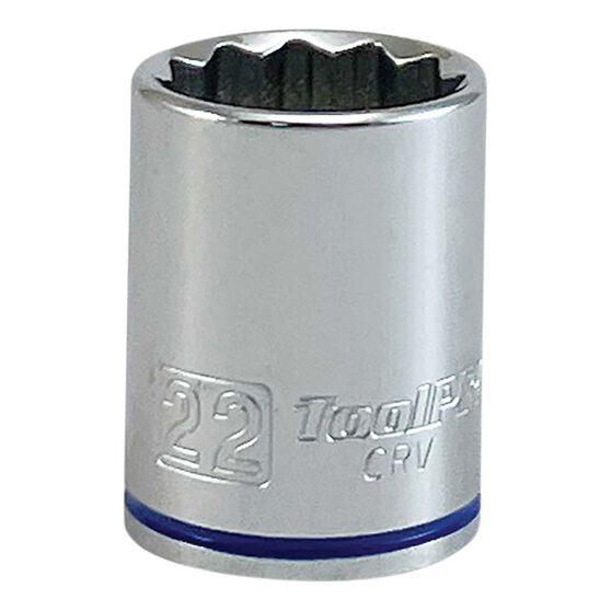 ToolPRO Single Socket - 1 / 2 inch Drive, 22mm, , scaau_hi-res