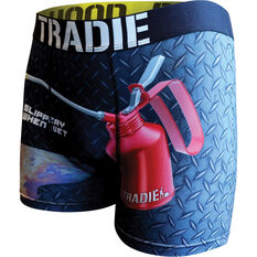 Tradie Quick Dry Trunks - Oil Can S, Oil Can, scaau_hi-res