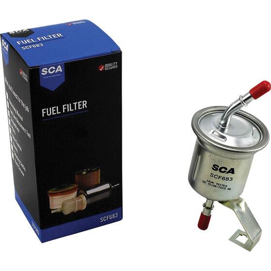 SCA Fuel Filter - SCF683 (Interchangeable with Z683), , scaau_hi-res