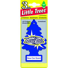 Little Trees Air Freshener - New Car, 3 Pack, , scaau_hi-res