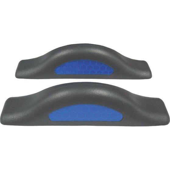 SCA Door Protectors - Black With Blue Reflectors, 2 Pack, , scaau_hi-res