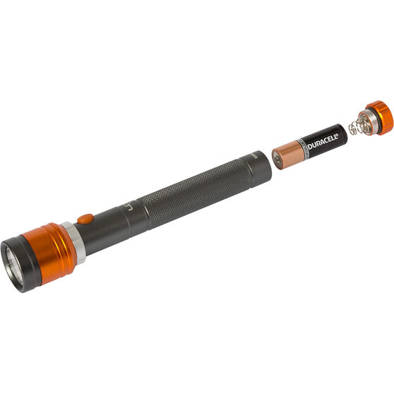 Ridge Ryder Aluminium Torch - LED, T1, 2AA, , scaau_hi-res