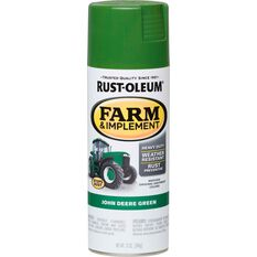 Rustoleum Aerosol Paint - Specialty Farm and Implement Enamel, Deere Green, , scaau_hi-res