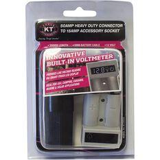 Connector - 50amp, Voltmeter, 15amp accessories socket, , scaau_hi-res