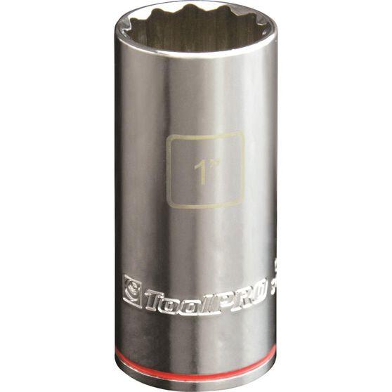 ToolPRO Single Socket - Deep, 1 / 2 inch Drive, 1 inch, , scaau_hi-res
