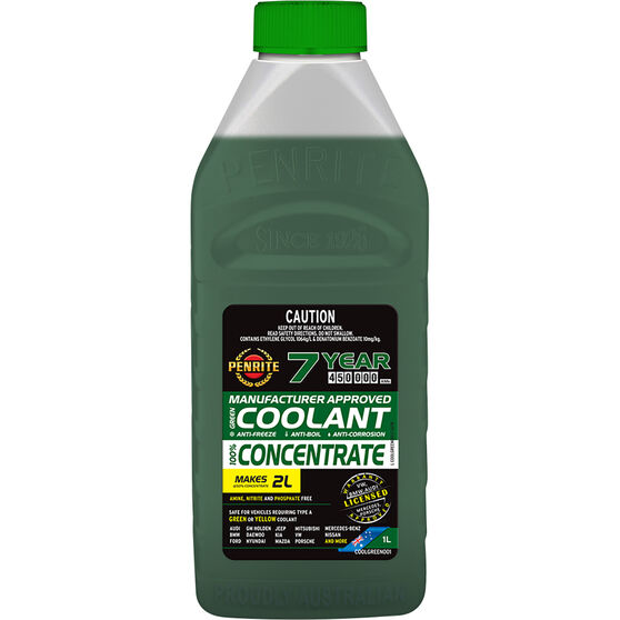 Penrite Green OEM Coolant Concentrate 1 Litre, , scaau_hi-res