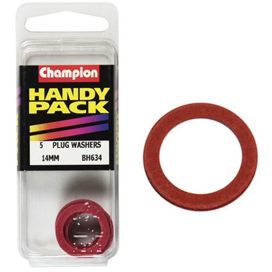 Champion Drain Plug Washer - 14mm, BH634, Handy Pack, , scaau_hi-res