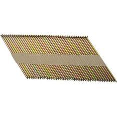 Air Framing Nail, Galvanised Steel - 90mm, 1000 Pack, , scaau_hi-res